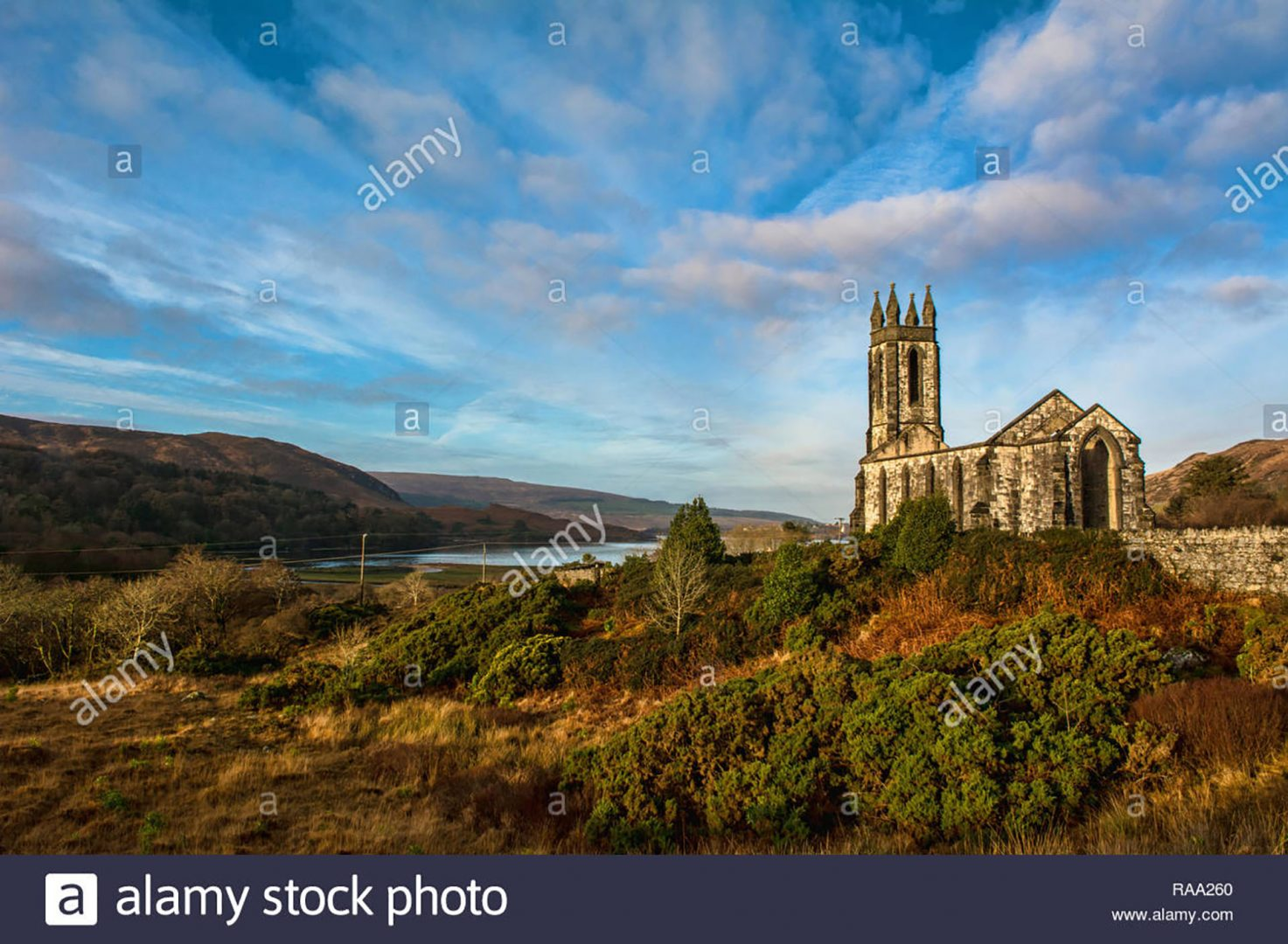 Landscape photo of Old Church of Dunlewey